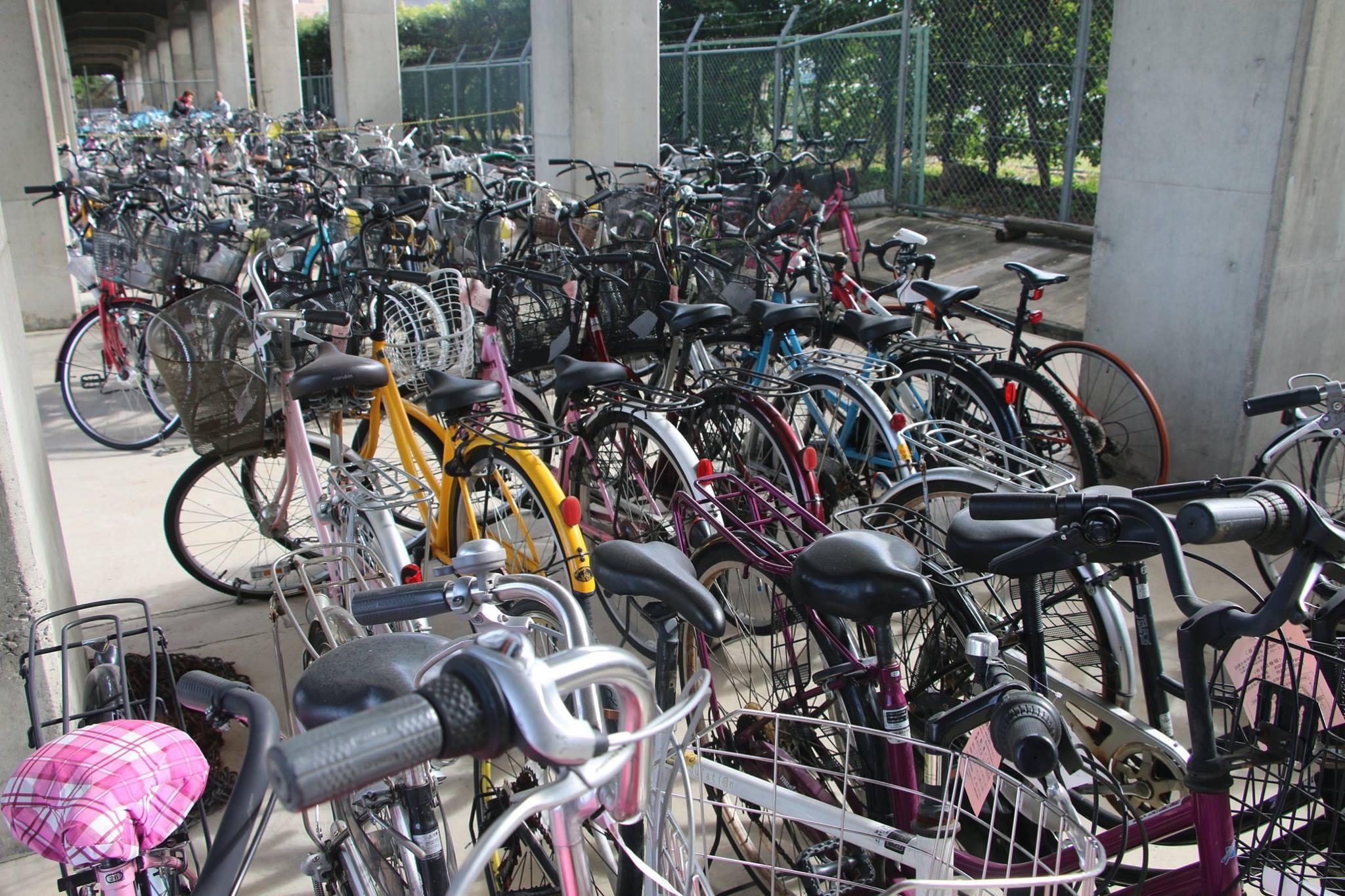 佐賀駅周辺を管轄する放置自転車保管所