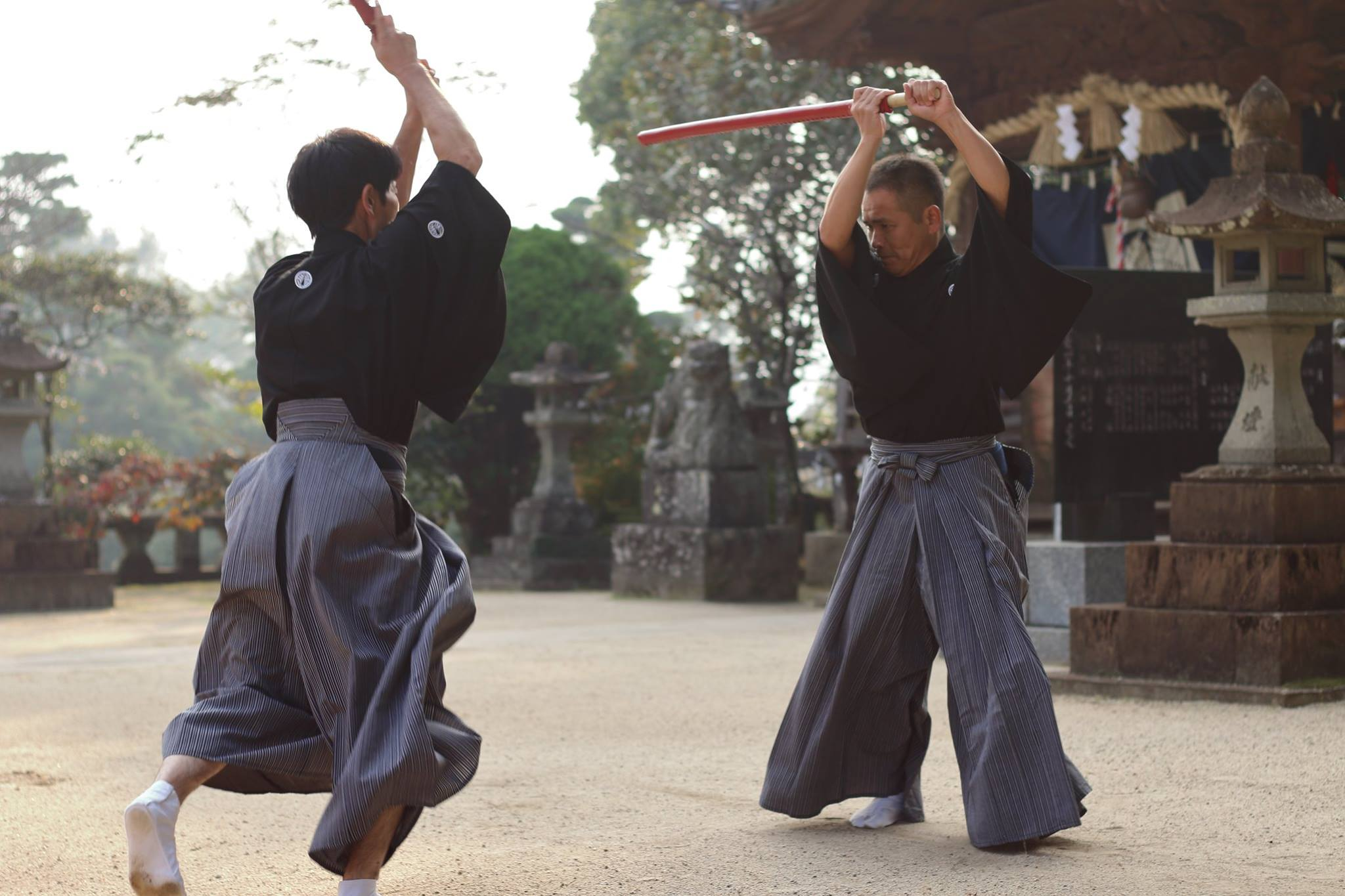 日本人です。トゥムルック。11/5 剣術コラボイベント「柳生新陰流×大石神影流」